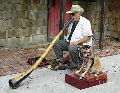 Didgeridoo Performer Art Print