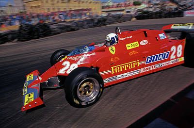 Didier Pironi Photograph - Didier Does Long Beach by Mike Flynn