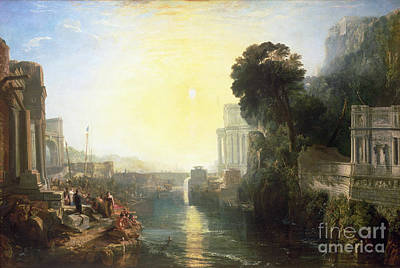 1775 Painting - Dido Building Carthage by Joseph Mallord William Turner