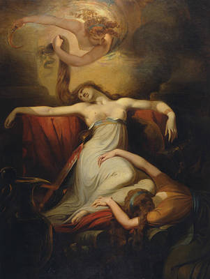 Painting - Dido  by Henry Fuseli