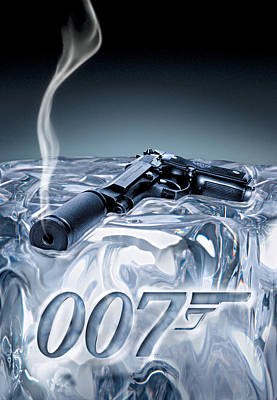Scary Digital Art - Die Another Day 2002 by Fine Artist