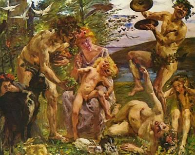 Painting - Die Jugend Des Zeus 1905 by Corinth Lovis