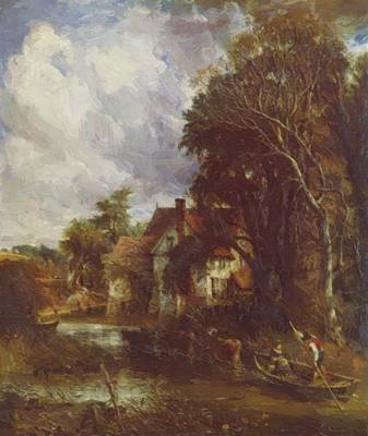 Painting - Die Valley Farm 1835 by Constable John