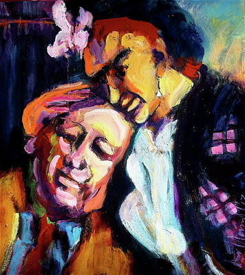 Painting - Diego And Frida by Les Leffingwell