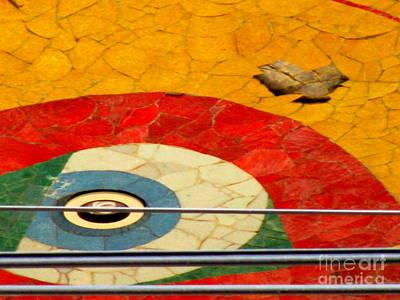 Studio Murals Photograph - Diego Rivera Mural 11 by Randall Weidner
