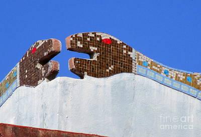 Studio Murals Photograph - Diego Rivera Mural 12 by Randall Weidner