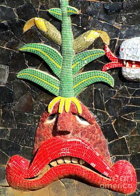 Studio Murals Photograph - Diego Rivera Mural 5 by Randall Weidner