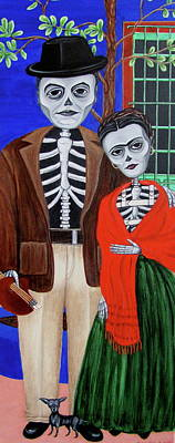 Painting - Diego Y Frida by Evangelina Portillo
