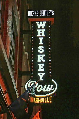 Photograph - Dierks Bentley's Whiskey Row # 2 - Memphis by Allen Beatty