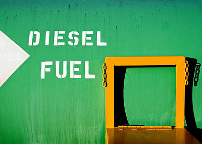 Photograph - Diesel Green by Todd Klassy