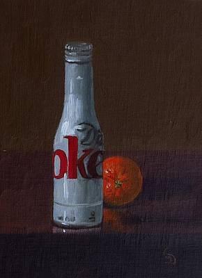 Painting - Diet Coke by Grace Diehl