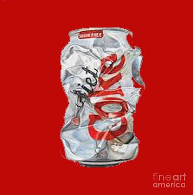 Diet Coke T-shirt Art Print