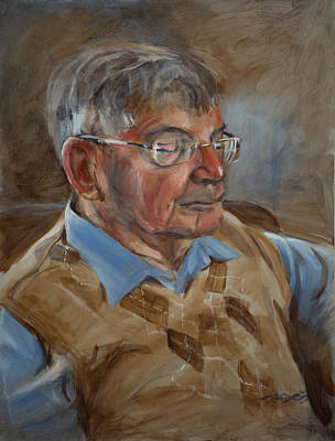 Painting - Dietrich Berner by Christopher Reid
