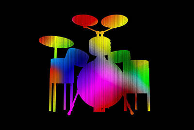 Photograph - Different Drums by Mark Blauhoefer