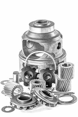 Differential Components Art Print