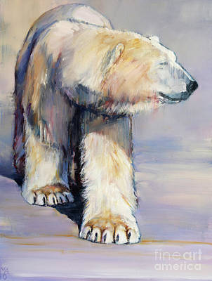 Paws Painting - Diffuse by Mark Adlington