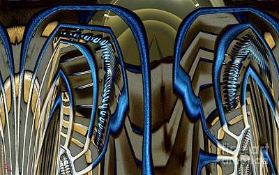 Diffuser Digital Art - Diffuser by Ron Bissett