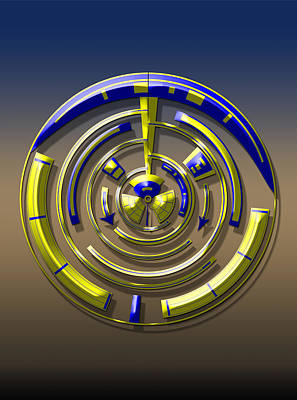 Digital Art - Digital Art Dial 5 by David Yocum