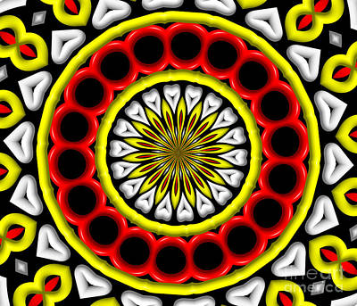 Digital Art - Digital Art Kaleidoscope 1 by Rose Santuci-Sofranko