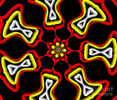Digital Art - Digital Art Kaleidoscope 2 by Rose Santuci-Sofranko