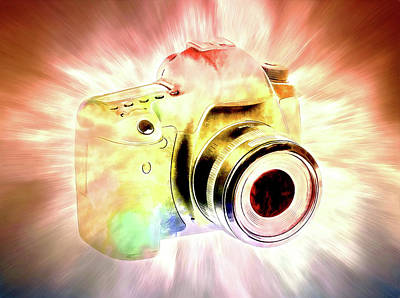 Photograph - Digital Camera Obsessed by Athena Mckinzie