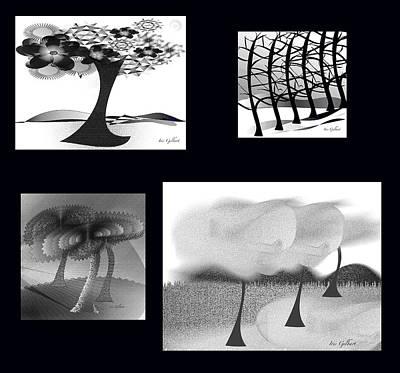 Digital Art - Digital Collage #5 by Iris Gelbart