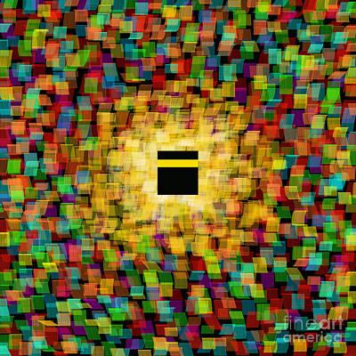 Hajj Painting - Digital Diversity 1 by Siddiqa Juma