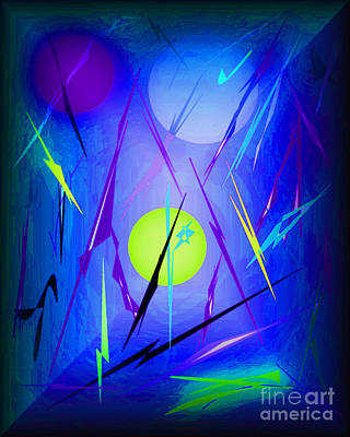 Abstract Realism Digital Art - Digital Doodles by John Krakora