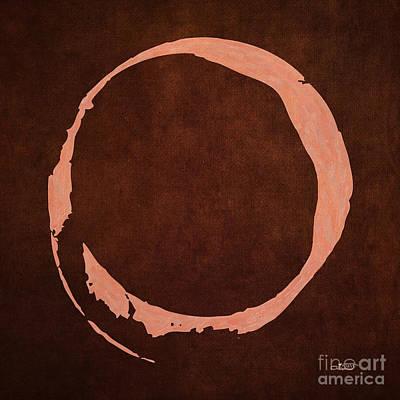 Digital Art - Digital Enso by Jutta Maria Pusl