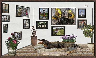 Digital Exhibition _ Crocodile Original