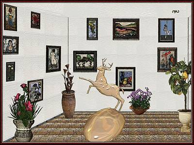 Pemaro Painting - Digital Exhibition 19 by Pemaro