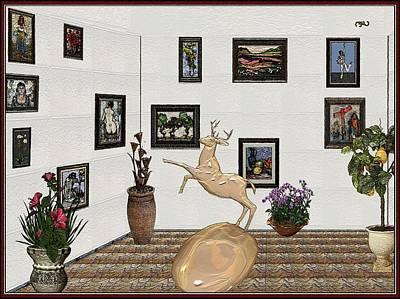 Digital Exhibition 19 Art Print