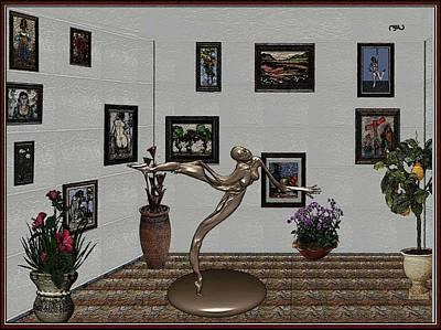 Pemaro Painting - Digital Exhibition 25 by Pemaro
