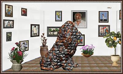 digital exhibition _Modern Statue of scrap Original by Pemaro