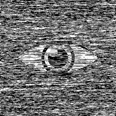 Digital Eye  Art Print by Igor Kislev