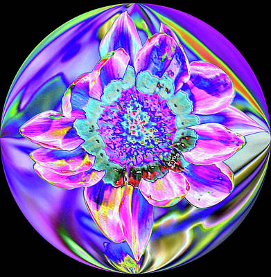 Digital Art - Digital Flower by Charles HALL