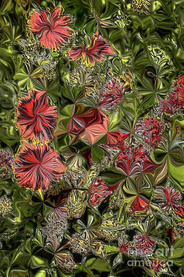 Digital Art - Digital Garden V by Leo Symon