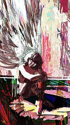 Digital Harmony Art Print
