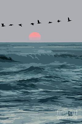 Digital Art - Digital Illustration by Sharon Foelz