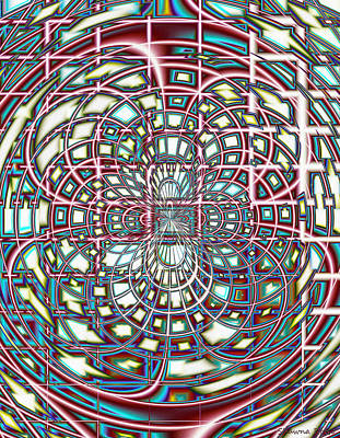 Angels And Cherubs - Digital Interlace by Shawna Rowe