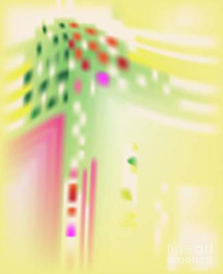 Wall Art - Digital Art - Digital Mind - Abstract Art Print On Canvas - Digital Art - Fine Art Print  by Ron Labryzz