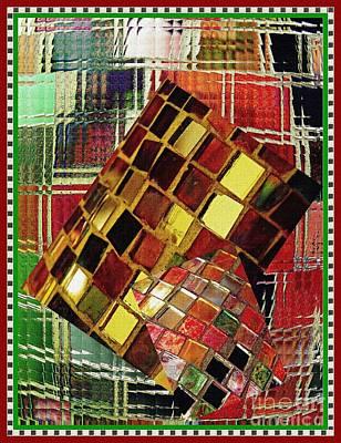 Digital Mosaic Art Print