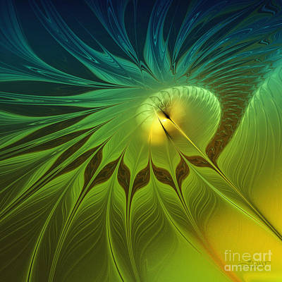 Digital Nature Art Print