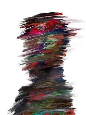 Drawing - Digital Painting 084 by Bill Owen