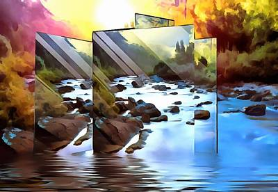 Digital Art - Digital Photo Collage by Mario Carini