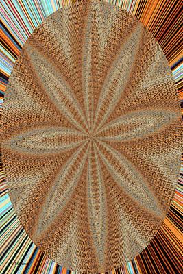 Digital Art - Digital Sand Dollar by Tom Janca