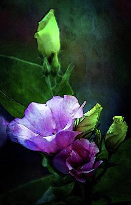 Digital Watercolor Elegance 3700 W_2 Art Print