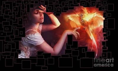 Digital Art - Digitally Smartaged by Catherine Lott
