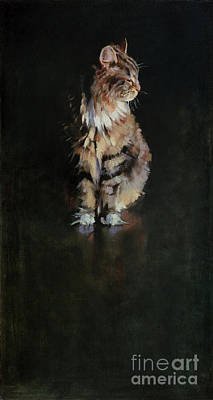 Wall Art - Painting - Portrait Of Dignan by Patrick Saunders