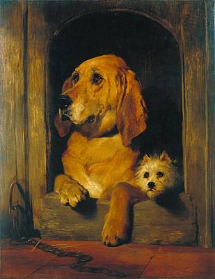 Painting - Dignity And Impudence by Edwin Henry Landseer